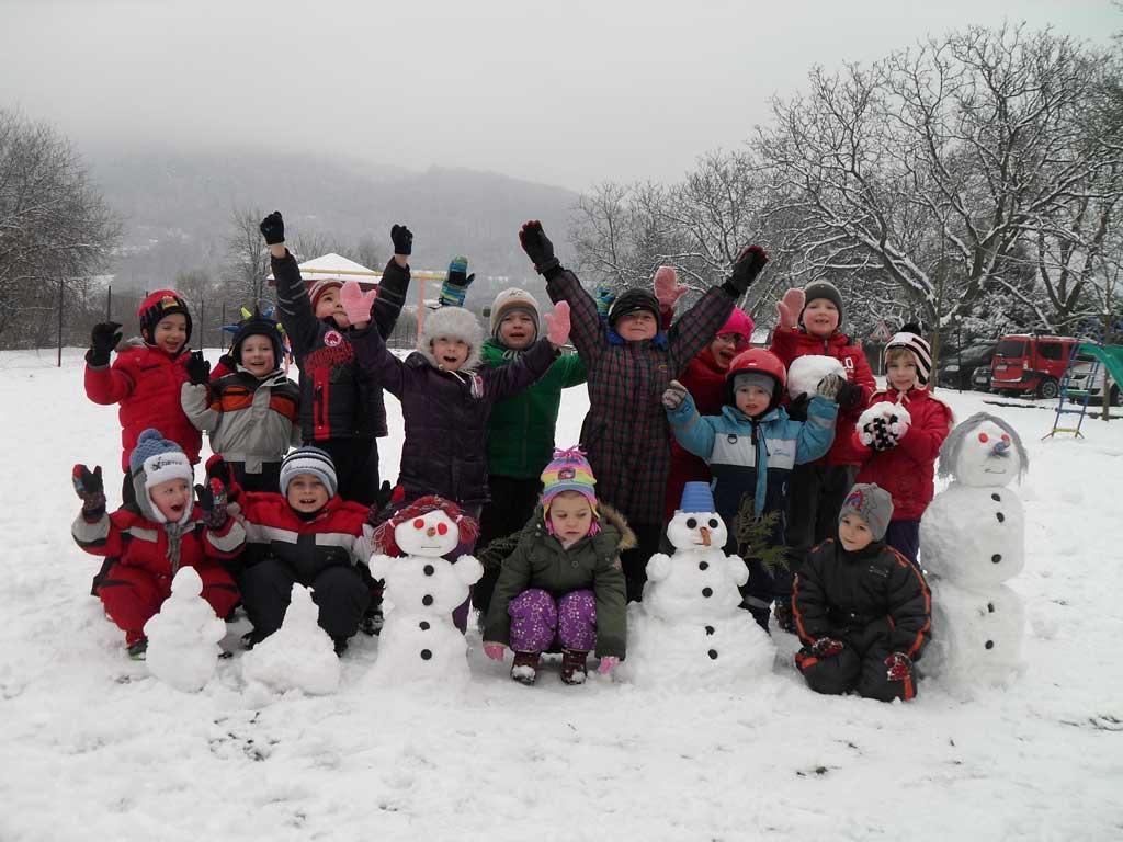 Zima v MS Nosice