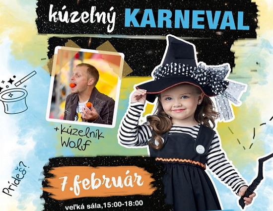 Detský kúzelný karneval