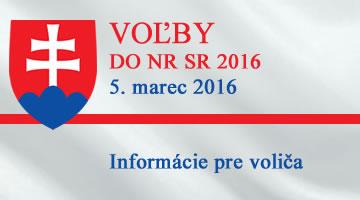 Voľby do NR SR 2016
